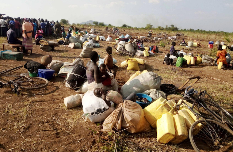 UPDF evicts 200 from Maruzi ranch, burns down their houses